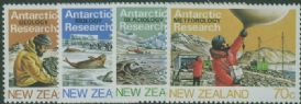 NZ SG1327-30 Antarctic Research set of 4